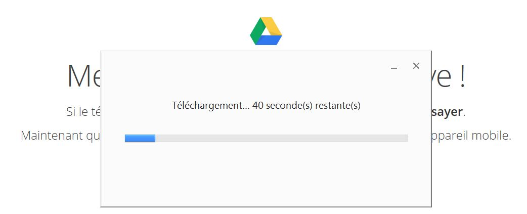 Installation Google Drive 2 - Jesauvegardemesdocuments.fr