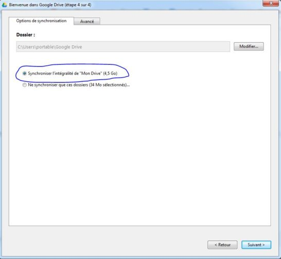 Installation Google Drive 4 - Jesauvegardemesdocuments.fr