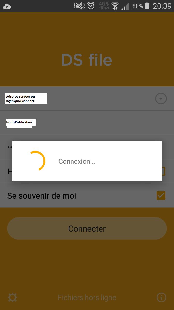 Sauvegarde automatique IPhone ou Android avec Synology DS FILE