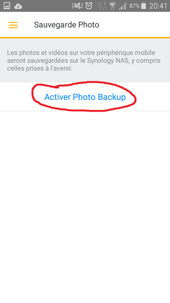 Synology Ds File - Activer Photo Backup - Jesauvegardemesdocuments.fr