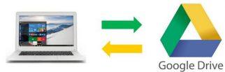 Sauvegarde automatique PC avec Google DRIVE