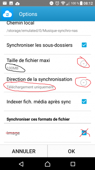 DSCLOUD - Configuration de la synchronisation - Jesauvegardemesdocuments.fr