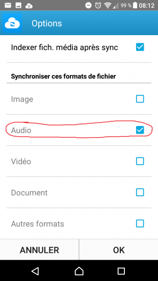 DSCLOUD - Configuration de la synchronisation 2 - Jesauvegardemesdocuments.fr