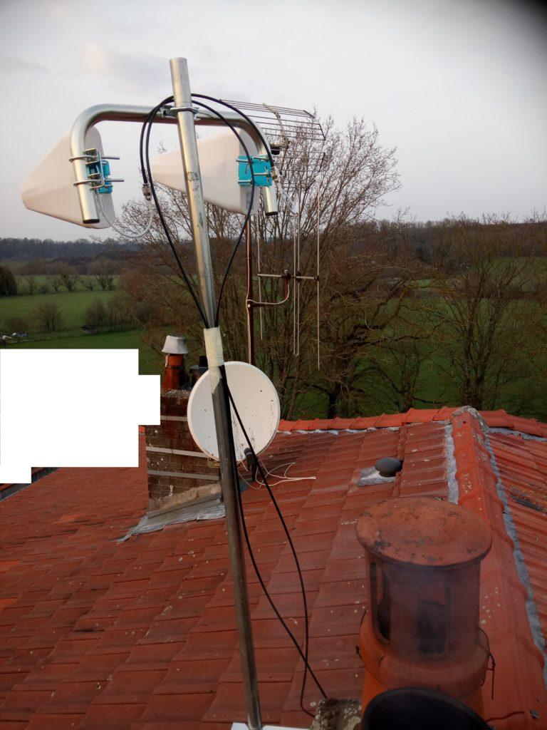 antennes-YAGI-20Db-sur-le-toit