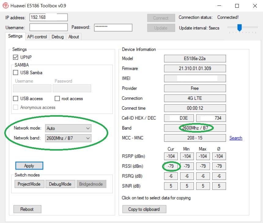 L'attribut alt de cette image est vide, son nom de fichier est Huawei-E5186-Toolbox-v0.9.jpg.